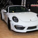 Porsche 911 Turbo Stinger GTR front three quarters at the 2014 Moscow Motor Show