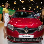 Renault Sandero at Moscow Motor Show 2014