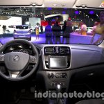 Renault Sandero dashboard at Moscow Motor Show 2014