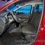 Renault Sandero front seats at Moscow Motor Show 2014