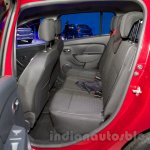 Renault Sandero rear seat at Moscow Motor Show 2014