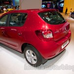 Renault Sandero rear three quarters at Moscow Motor Show 2014