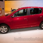 Renault Sandero side at Moscow Motor Show 2014
