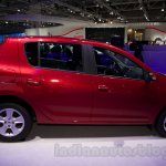 Renault Sandero side profile at Moscow Motor Show 2014