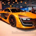 Renaultsport R.S. 01 at the 2014 Moscow Motor Show front quarters