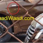 Spied Maruti Ciaz production version badge