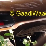 Spied Maruti Ciaz production version bumper