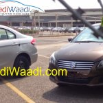 Spied Maruti Ciaz production version grille
