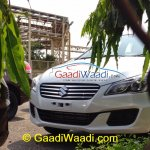 Spied Maruti Ciaz production version headlight