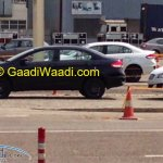 Spied Maruti Ciaz production version side