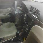 Suzuki Alivio spied production model dashboard