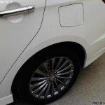Suzuki Alivio spied production model wheel