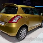 Suzuki Swift facelift rear three quarters right at the 2014 Moscow Motor Show