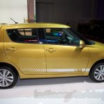 Suzuki Swift facelift side profile at the 2014 Moscow Motor Show