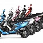 TVS Scooty Zest colours official image