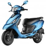 TVS Scooty Zest front three quarters official image