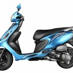 TVS Scooty Zest side official image