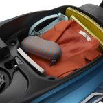 TVS Scooty Zest under-seat storage official image