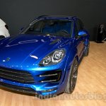 Top Car Porsche Macan Ursa front three quarters at Moscow Motor Show 2014