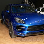 Top Car Porsche Macan Ursa front three quarters left at Moscow Motor Show 2014