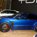 Top Car Porsche Macan Ursa side view at Moscow Motor Show 2014