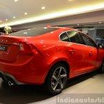 Volvo S60 R-Design India rear quarter