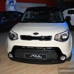 2014 Kia Soul front at the 2014 Nepal Auto Show