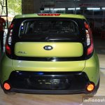 2014 Kia Soul rear at the 2014 Nepal Auto Show