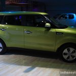 2014 Kia Soul side at the 2014 Nepal Auto Show