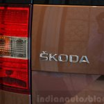 2014 Skoda Yeti facelift launch badge