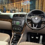 2014 Skoda Yeti facelift launch dash