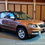 2014 Skoda Yeti facelift launch front quarters