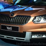 2014 Skoda Yeti facelift launch gascia