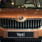 2014 Skoda Yeti facelift launch grille
