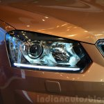 2014 Skoda Yeti facelift launch headlight