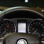 2014 Skoda Yeti facelift launch instrumentation