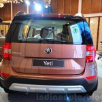 2014 Skoda Yeti facelift launch rear