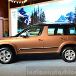 2014 Skoda Yeti facelift launch side