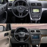 2014 Skoda Yeti facelift vs old Skoda Yeti interior