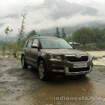 2014 Skoda Yeti front three quarters view review