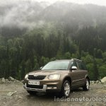 2014 Skoda Yeti front three quarters zoom out review