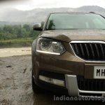 2014 Skoda Yeti headlamp and face review