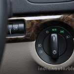2014 Skoda Yeti headlamp switches review