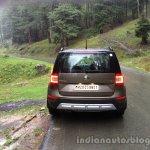 2014 Skoda Yeti rear review