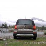 2014 Skoda Yeti rear shot review