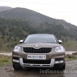 2014 Skoda Yeti review frontal shot