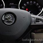 2014 Skoda Yeti steering wheel buttons review