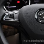 2014 Skoda Yeti steering wheel controls review