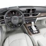 2015 Audi A6 facelift press shots dash