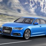 2015 Audi A6 facelift press shots front